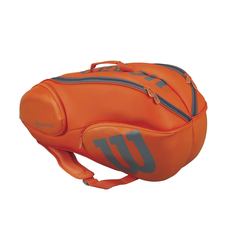 Wilson Vancouver Zaino, Unisex adulto, Unisex adulto, Vancouver 9 Pack, Arancio/Gris (Orange/Grey) WRZ849709