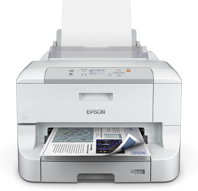 Epson WF-8010DW - Impresora multifunción de Tinta: Amazon.es ...