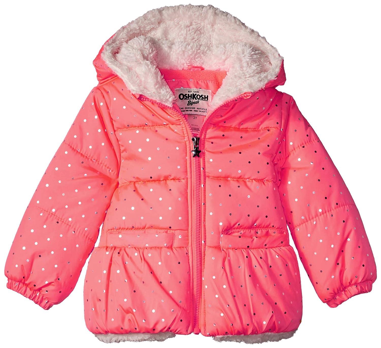 b733340f5 Amazon.com  OshKosh B Gosh Girls  Perfect Heavyweight Jacket Coat ...