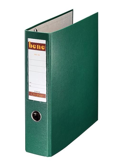 Bene 292900GN - Carpeta (tamaño A4, 75 mm), color verde