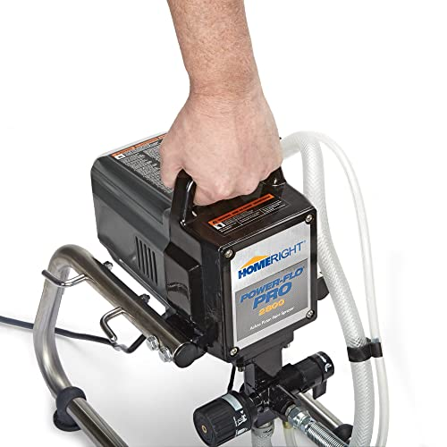 HomeRight Power Flo Spray Gun is a perfect airless paint sprayer for large painting project