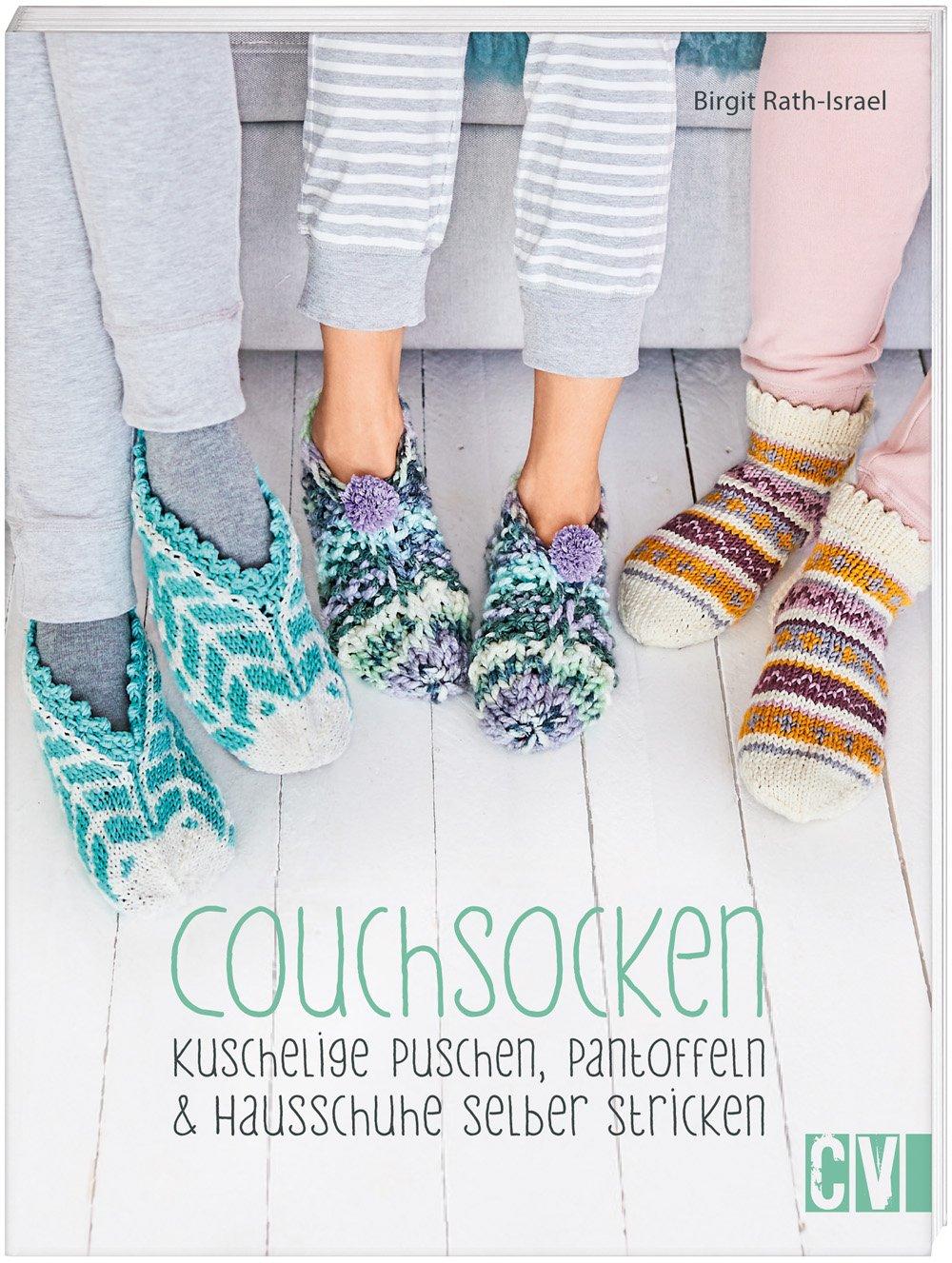 Couchsocken Kuschelige Puschen Pantoffeln Hausschuhe Selber