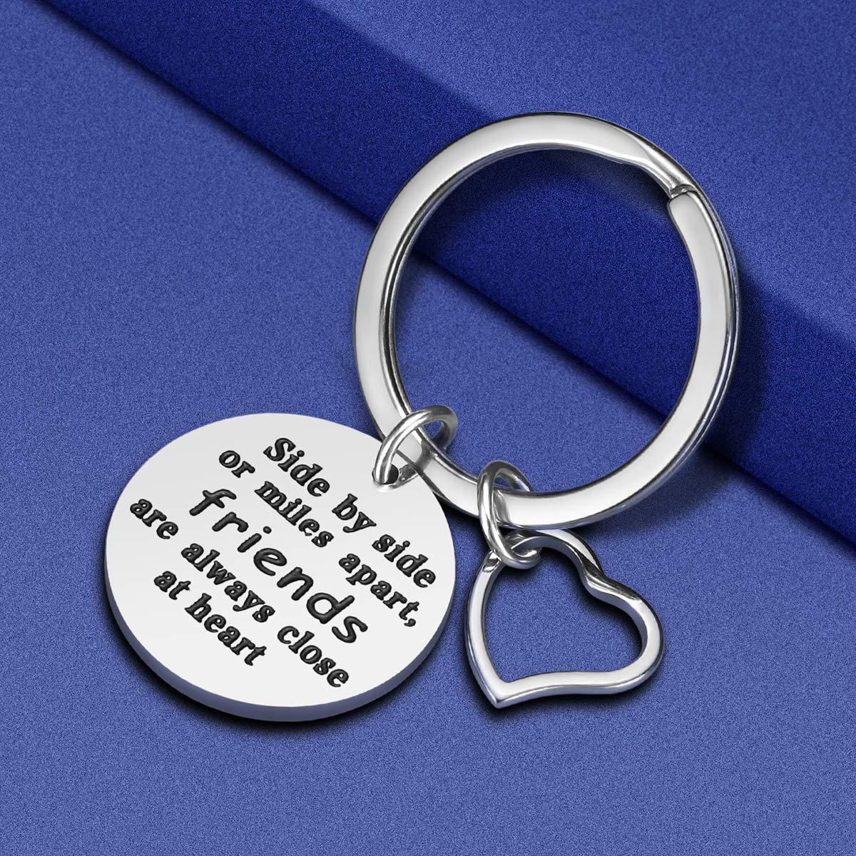 Amazon.com: iWenSheng - Llavero de la amistad para mujer, de ...