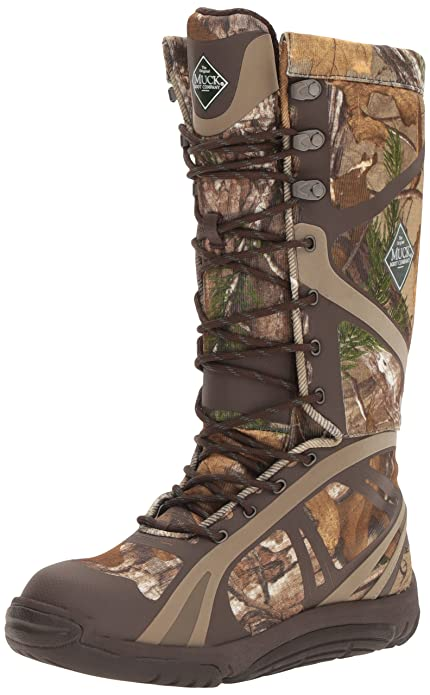 b2c658f4b5284 Muck Pursuit Shadow Rubber Lightweight Insulated Scent-Masking Lace-Up Men's  Hunting Boots