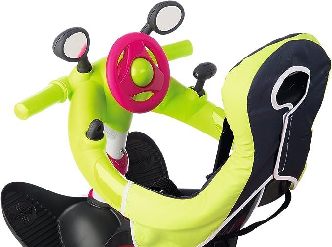 Triciclo Baby Driver Confort rosa con cuadro de metal y ruedas ...