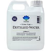 Agua destilada, 100% pura destilada a vapor H2O