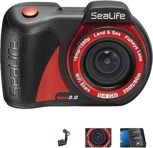 Sealife 35 100 002 Micro 2 0 64gb Unterwasserkamera Kamera