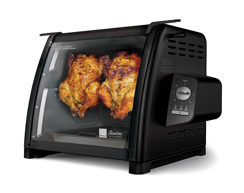 Ronco 5500 Series Rotisserie Oven, Black