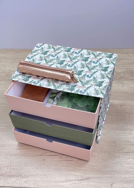 Clairefontaine La Vie en Vosges Storage Box with Drawers