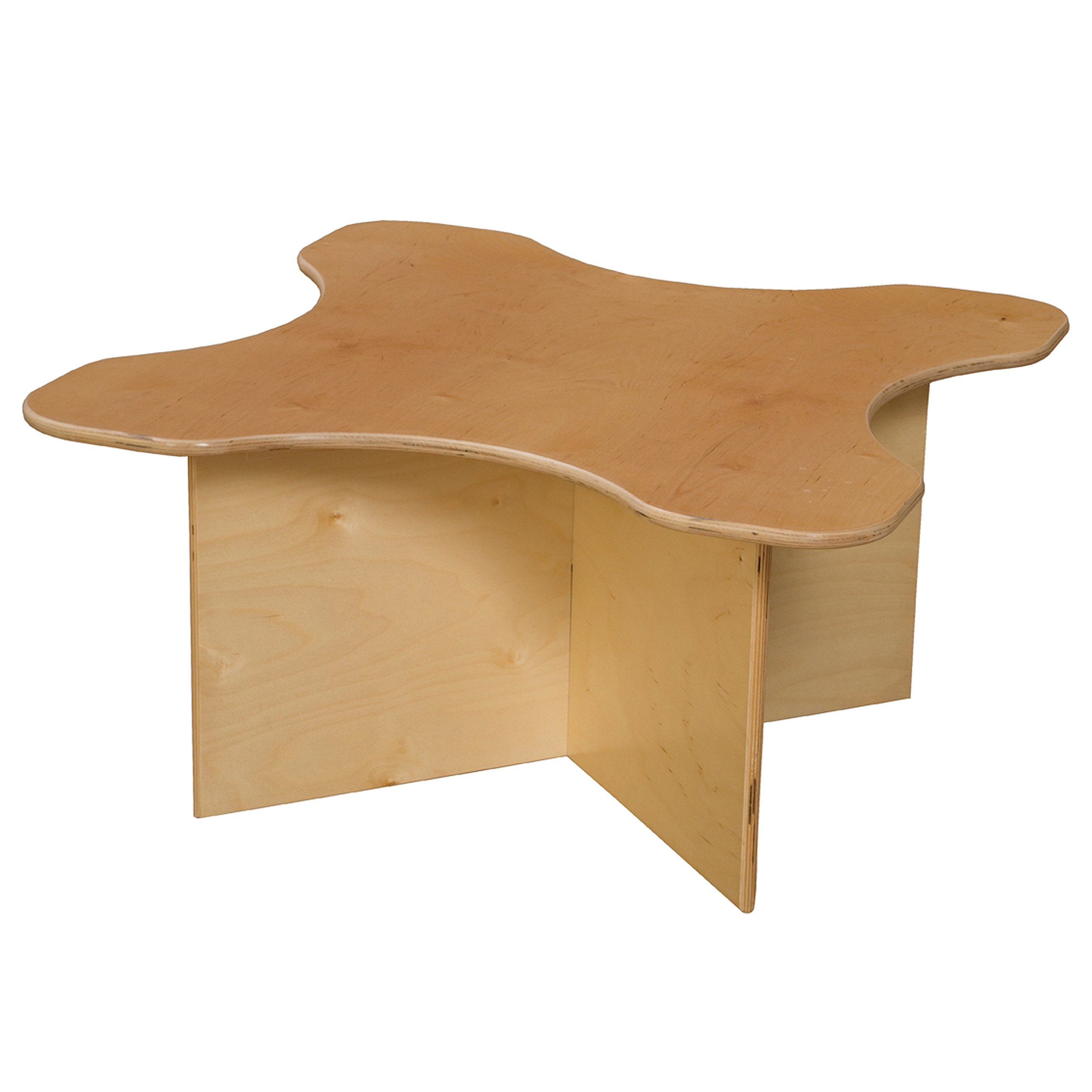 """Wood Designs WD21810 Tot Transition Table, 15 x 30 x 30"""" (H x W x D)"""