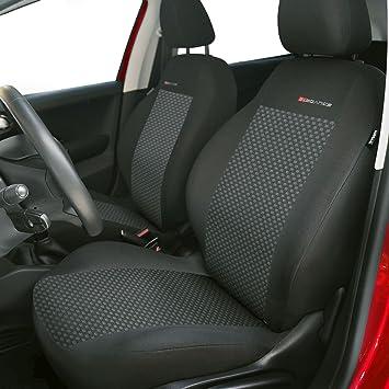 Gsc Sitzbezüge Autositzbezug Komplettset 5 Sitze Universal Grau Elegance Kompatibel Mit Volkswagen Vw Polo 5 Sitze Auto