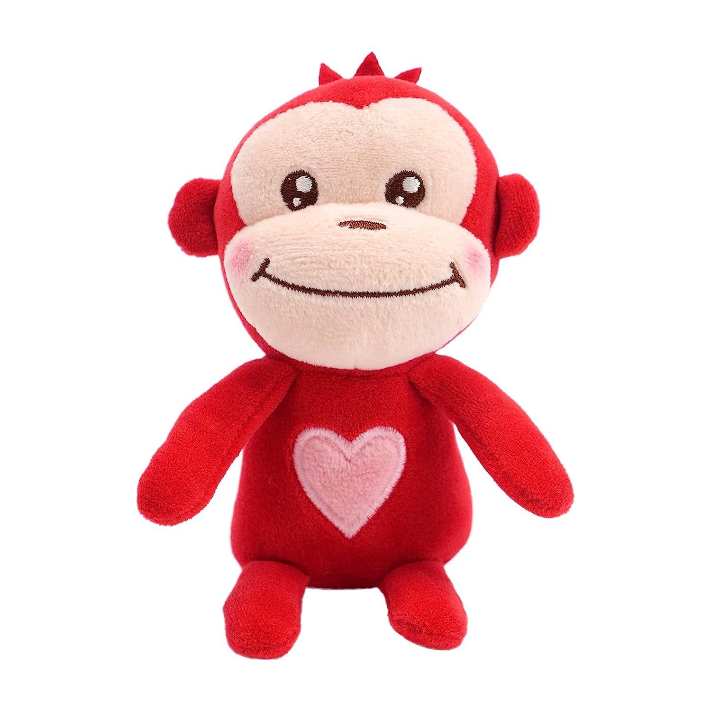 Boy Hallmark Plush Valentines Mini Monkey