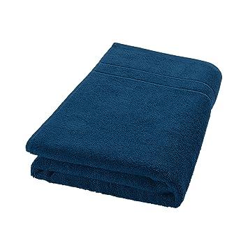 Decolicious - Toalla de baño 100% algodón peinado - 550gr/m2 - Azul turquesa oscuro - 100x150 cm: Amazon.es: Hogar