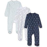 Care Baby Strampler mit Zip im 3er Pack