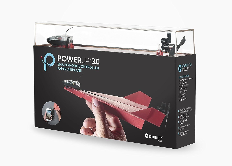 PowerUp 896964 - Aeroplano de papel compatible con smartphones ...