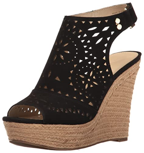 36cbc261740 Marc Fisher Women s Harlea Wedge Sandal  Amazon.co.uk  Shoes   Bags