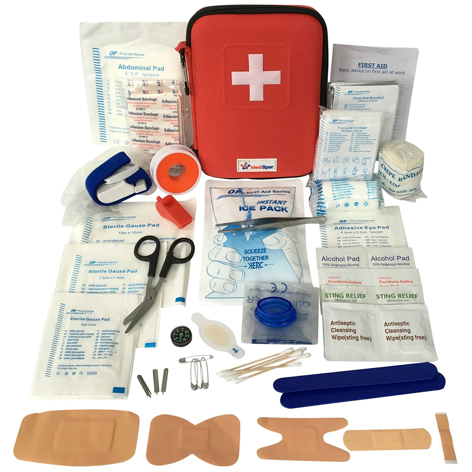 Best Backpacking and Trekking Gear, Best first aid kit for backpacking, best lightweight first aid box, Buy affordable first aid box online, Best first aid kit for hiking