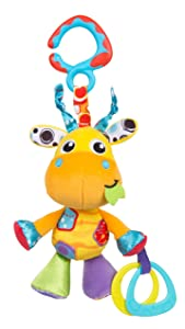 Playgro Baby Toy Jerry Giraffe Munchimal 0186977 for baby infant toddler children is Encouraging Imagination with STEM/STEAM for a bright future - Great Start for A World of Learning