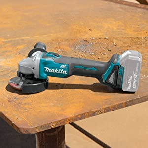 Makita XAG09Z 18V LXT Lithium-Ion Brushless Cordless 4-1/2/5 Cut-Off/Angle Grinder