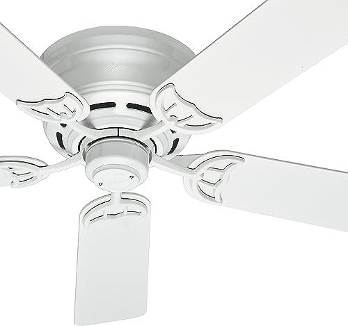 Hunter Fan 52 inch Low Profile Traditional Ceiling Fan