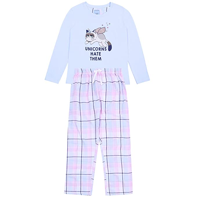 El pijama azul El Gato - Unicornio GRUMPY CAT - Large