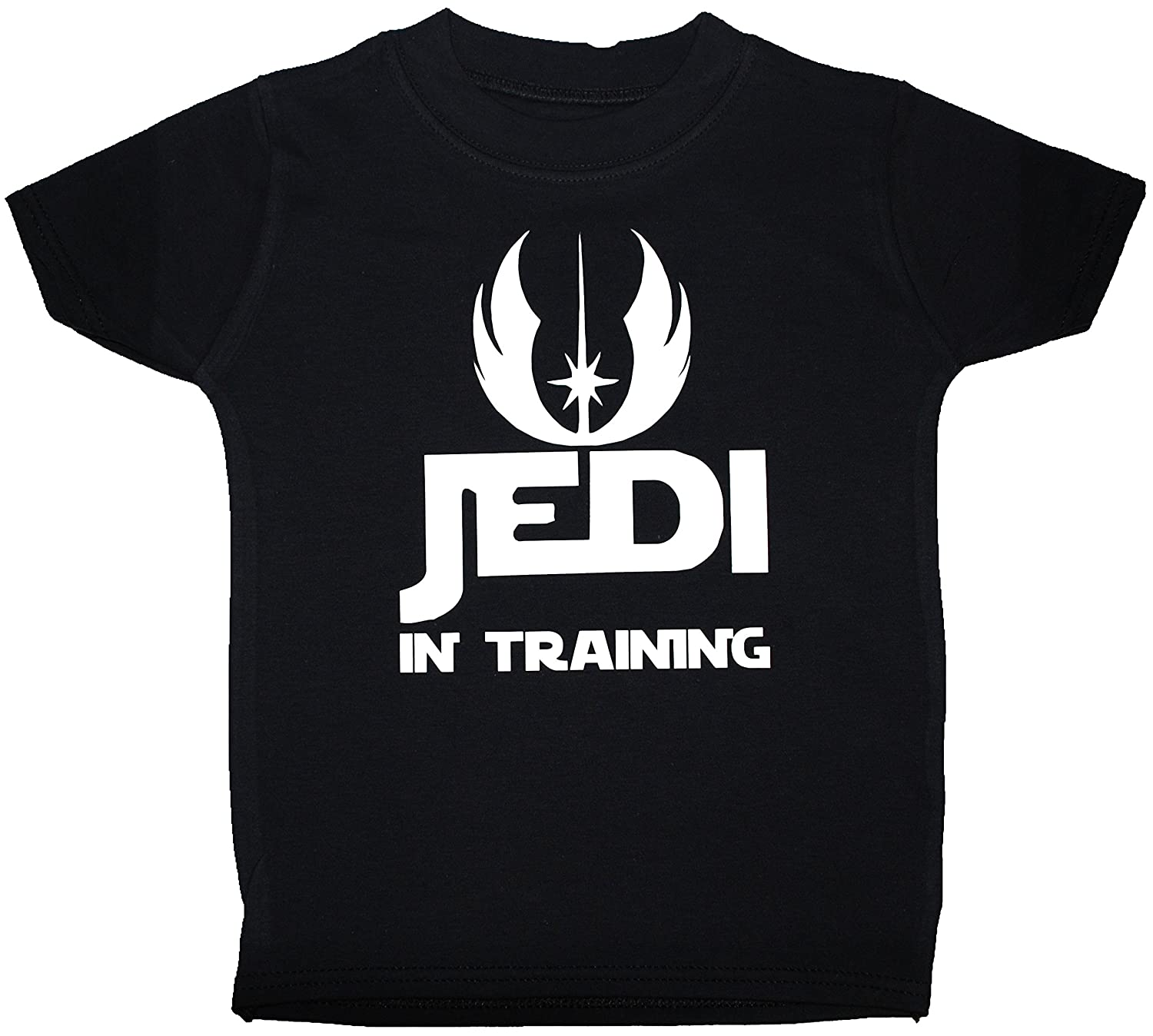 Jedi in Training Baby/Children T-Shirts/Tops Star Wars - 0-3 Months - Black Acce Products