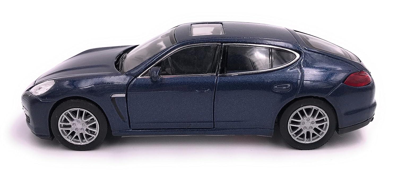 H-Customs Welly Porsche Panamera S Modèle de Voiture Produit LICENCIÉ 1: 34-1: 39 Bleu hcmpanamerasblau2605