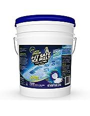 Green Gobbler Pet Safe Ice Melt Fast Acting Treatment | Magnesium Chloride Ice Melt Pellets | Pet & Plant Safe Ice Melter