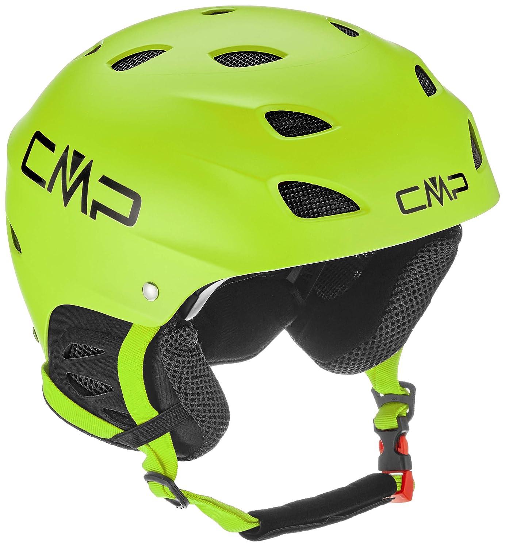 CMP xj-3, Casco Unisex niños, 38B4684, C580 Ferrari, Small: Amazon.es: Deportes y aire libre
