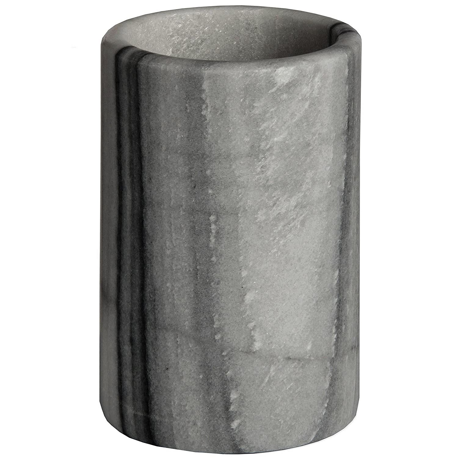 Hill Interiors Marble Utensils Holder (One Size) (Grey) UTHI2044_1