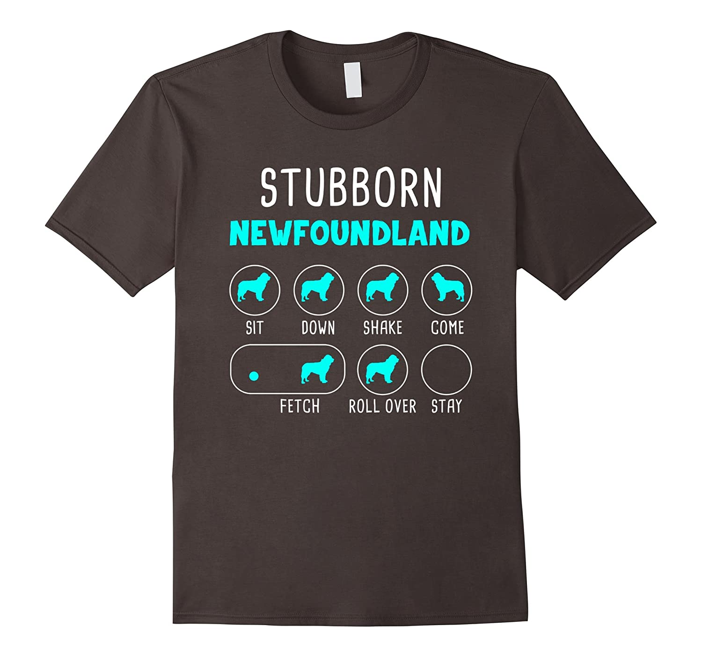 Stubborn Newfoundland Tricks T-shirt-AZP
