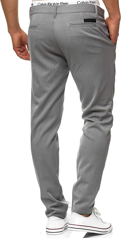 Largo Chino Pantalon Con 4 Bolsillos De Para Hombres Rectos Hombre Pants Comodo Regular Fit Tela Recto Corte Indicode Caballeros Rodekro Pantalones Chinos Muy Elasticos Pantalones Ropa