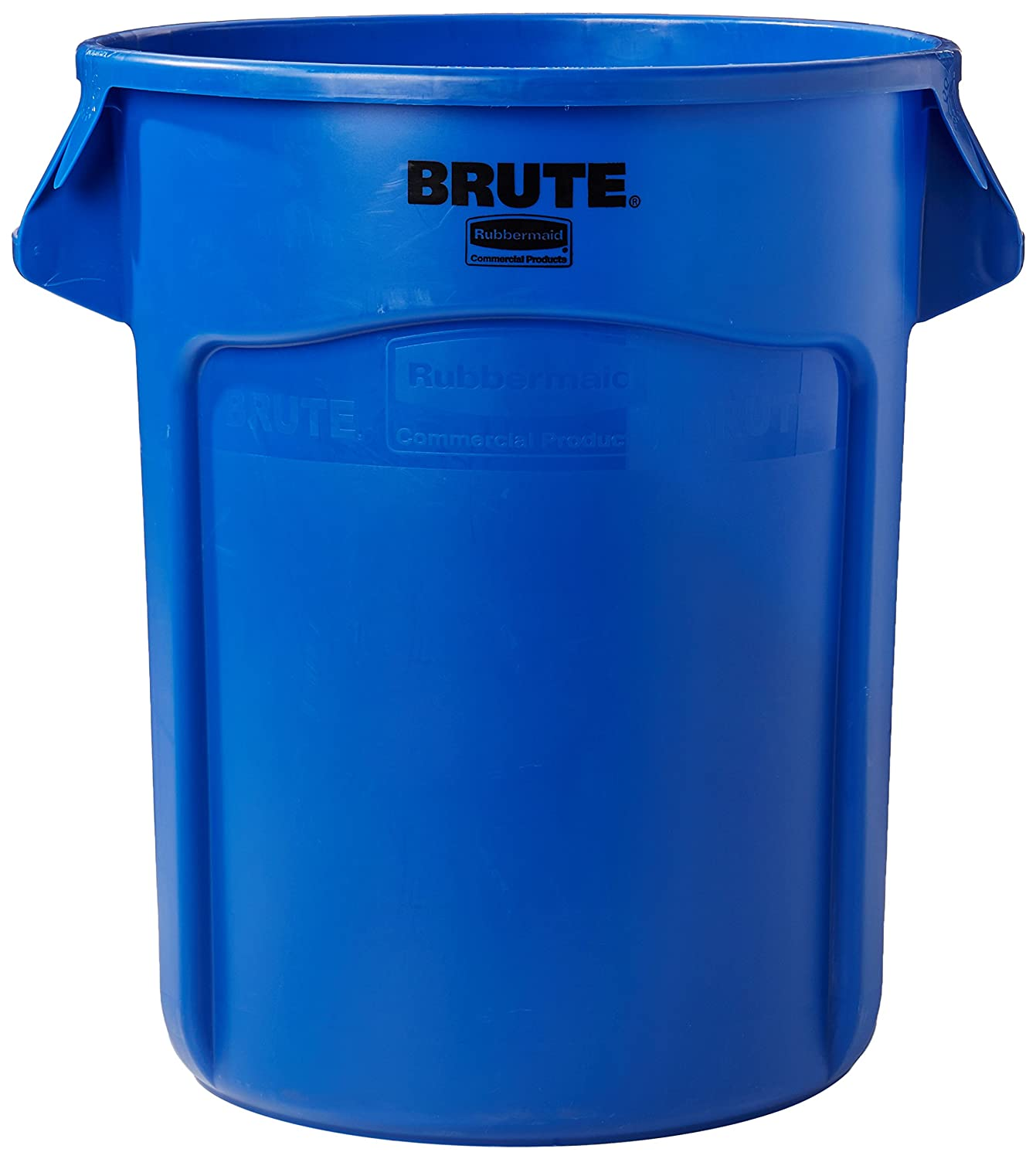 Rubbermaid Commercial FG262000BLUE BRUTE Heavy-Duty Round Waste/Utility Container, 20-gallon, Blue