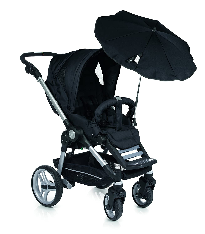 Baby Sonnenschirm kompatibel mit Teutonia Mistral schwarz