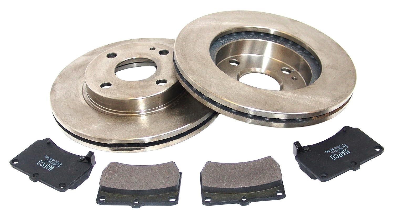 MAPCO 47510 Bremsscheiben mit Bremsbel/ägen