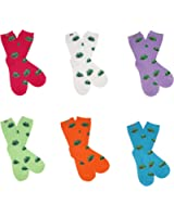RSG Teen Girls & Women's Frog Froggie Socks