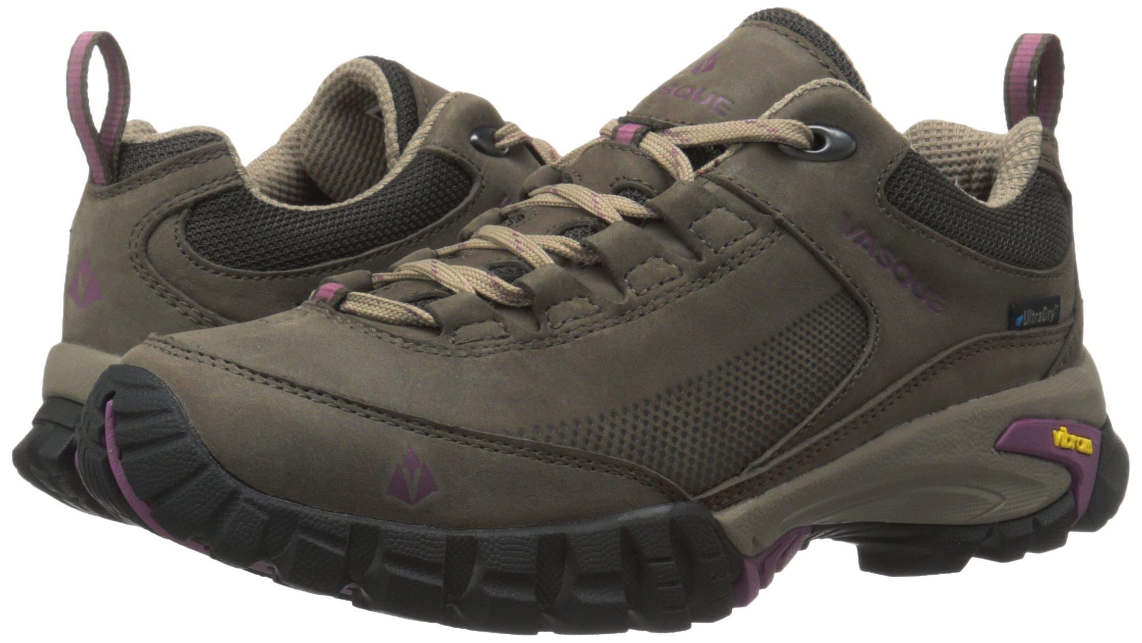 Vasque Women's Talus Trek Low UltraDry Hiking Shoe, Black Olive/Damson, 8.5 M US by Vasque (Image #6)