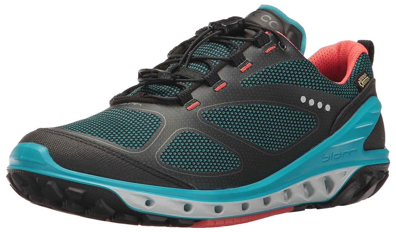 ECCO Women's Biom Venture Tie Textile Gore-Tex Multi-Sport Shoe B01EKMMJHU 36 EU/5-5.5 M US|Black/Capri Breeze/Coral Blush