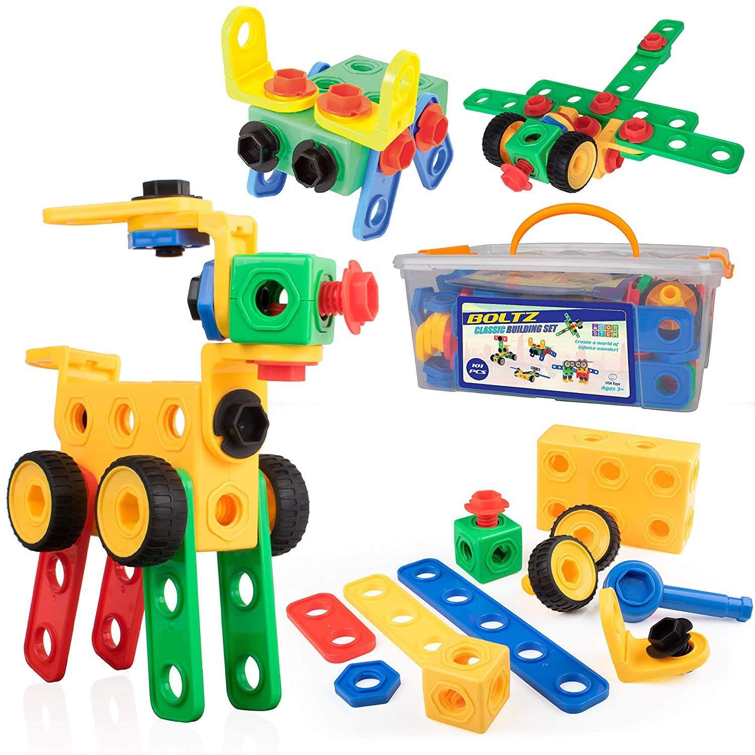 Top 9 Best STEM Toys for Toddlers Reviews in 2021 14
