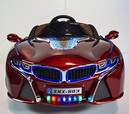 RIDE ON CAR BMW I8 Xmx 803 STYLE With RC/REMOTE CONTROL 12V BATTERY OPERATED