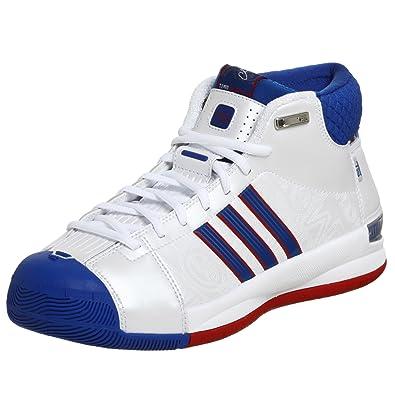 adidas uomini ts modello professionista giocatore di basket scarpa, bianco