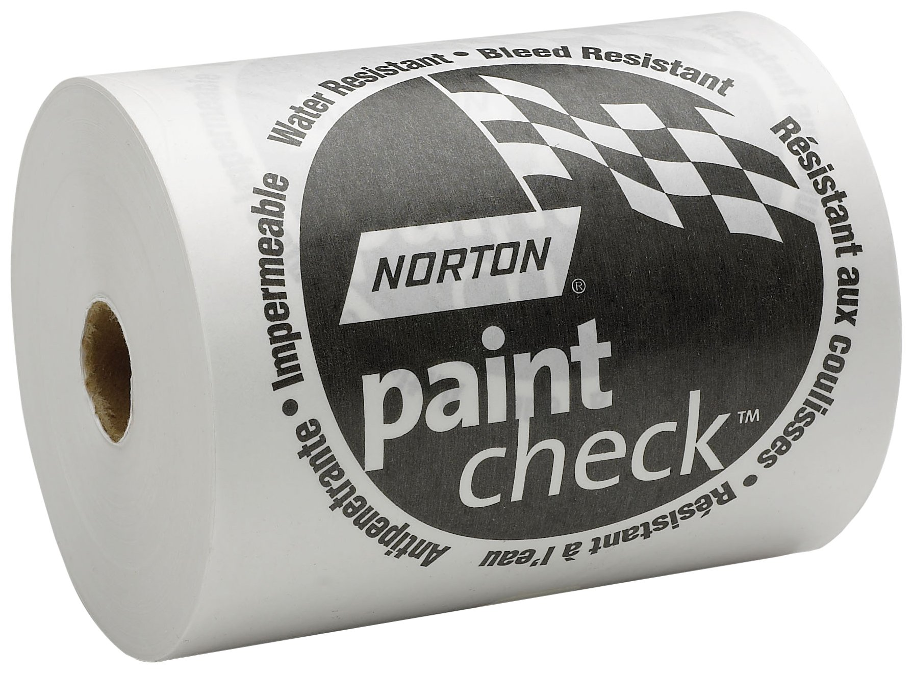 Norton 636425-00404 White 18'' x 750' Polycoated Masking Paper by Norton