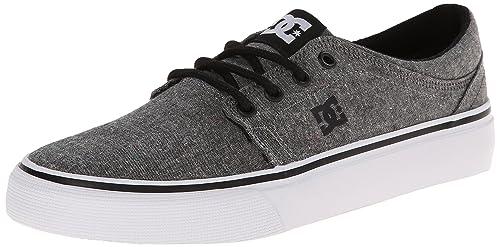 DC Trase TX SE M Shoe BL0 - Zapatilla Deportiva de Lona Hombre, Color Negro, Talla 44.5: DC Shoes: Amazon.es: Zapatos y complementos