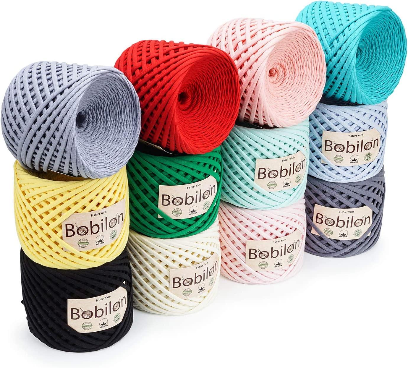 Amazon.com: Ovillo de lana para camiseta, estilo Zpagetti ...