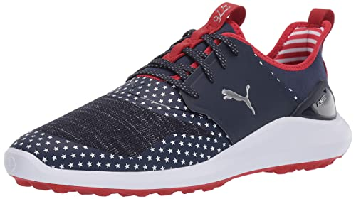Puma Ignite Nxt Lace Patriot Pack Chaussures de Golf pour