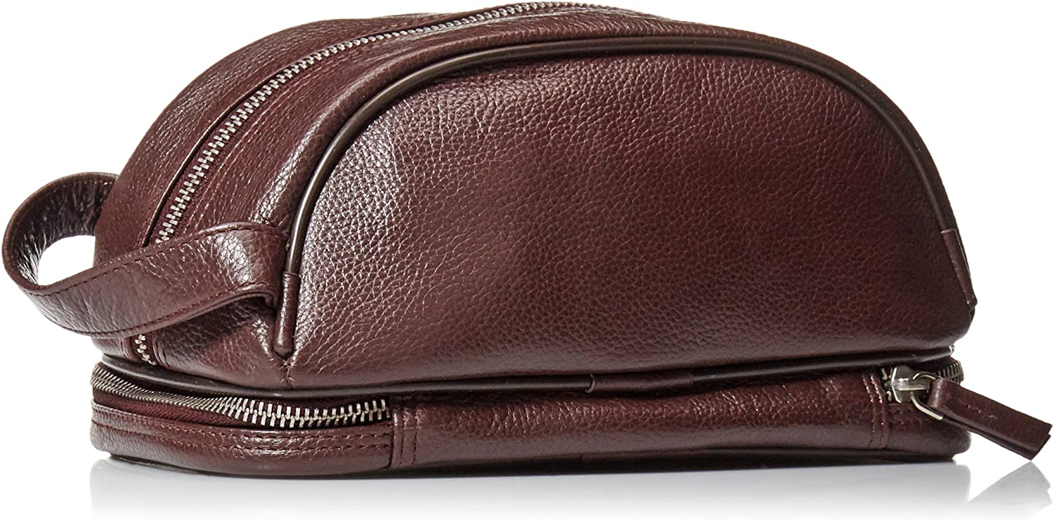 Genuine Luxury Leather for Portable Travel Uptown Downtown and Midtown Travel Kits by Latico Leathers