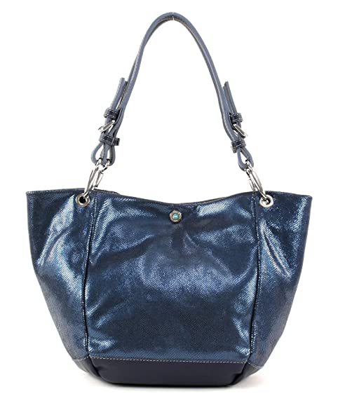 GABS ANYA Shopper Borsa Bustino Blue: Amazon.it: Scarpe e borse