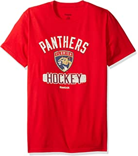 the latest 88599 be559 Reebok NHL Men s Miracle Short Sleeve Go-to Tee
