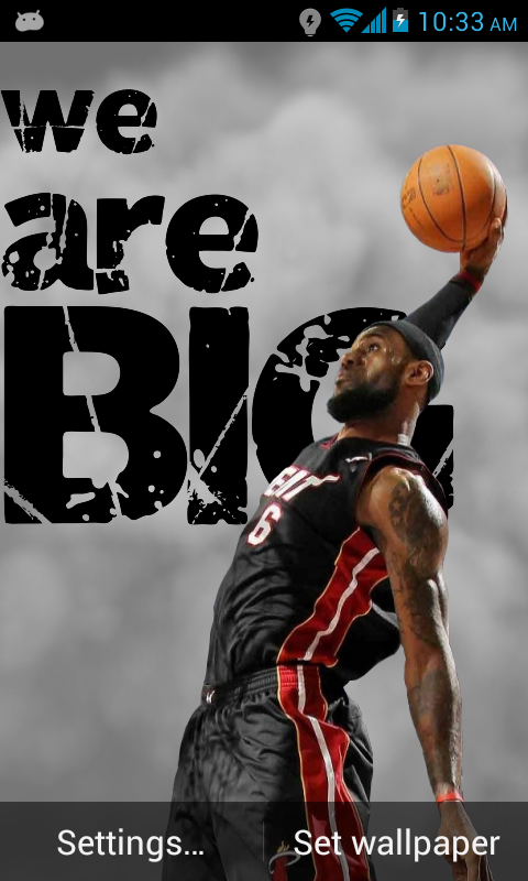 Amazon Lebron James Live Wallpaper Appstore For Android