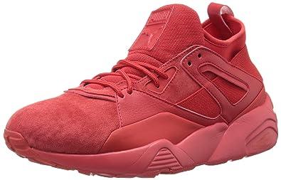 PUMA Men s Bog Sock Core High Risk Red Athletic Shoe 6409ff60c